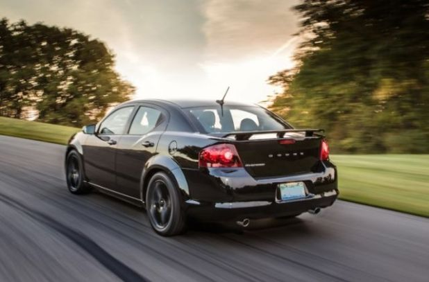 2020 Dodge Avenger side