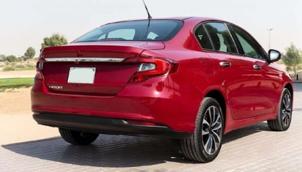 2020 Dodge Neon rear view