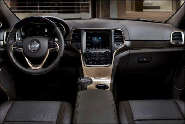 2020 Jeep Wagoneer interior