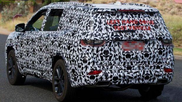 2020 Jeep Wagoneer rear