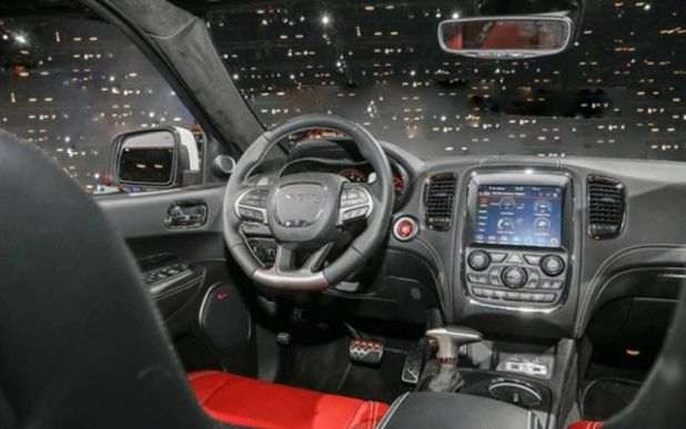 2020 Dodge Charger SRT Hellcat interior