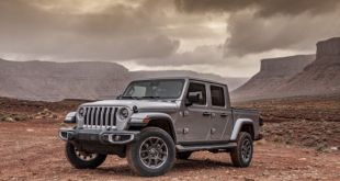 2020 Jeep Gladiator Overland front