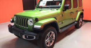 2020 Jeep Wrangler Sahara front