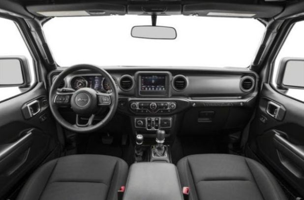 2020 Jeep Wrangler Sahara interior