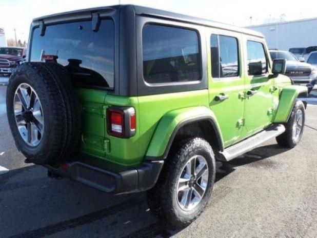 2020 Jeep Wrangler Sahara rear