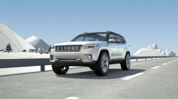 2021 Jeep Wagoneer front
