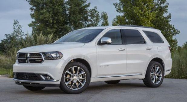 2020 Dodge Durango Citadel front