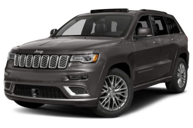 2020 Jeep Grand Cherokee Summit front