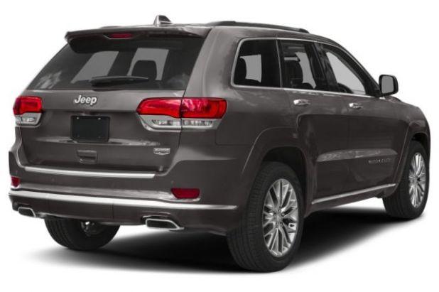 2020 Jeep Grand Cherokee Summit rear