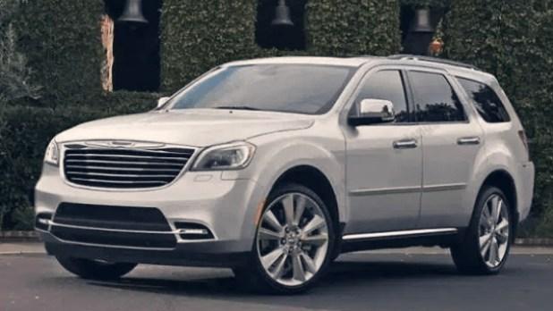 2021 Chrysler Aspen exterior