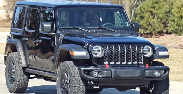 2021 jeep wrangler phev spied  jeep trend
