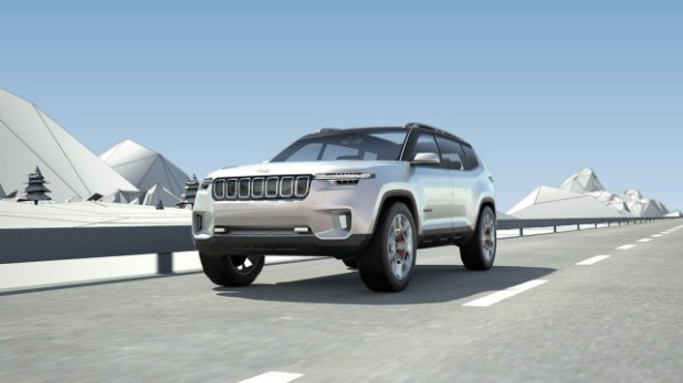 2022 Jeep Grand Wagoneer design