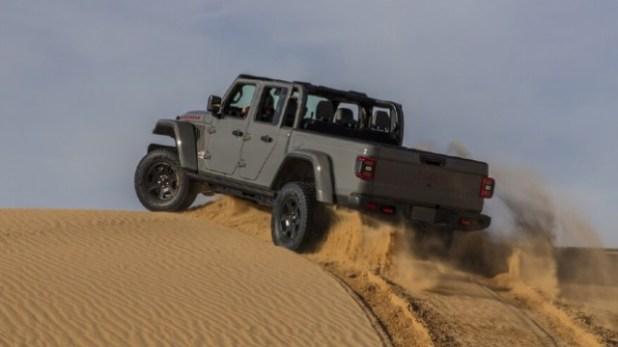 2021 Jeep Gladiator Mojave rear