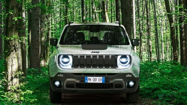 2022 Jeep Renegade PHEV exterior