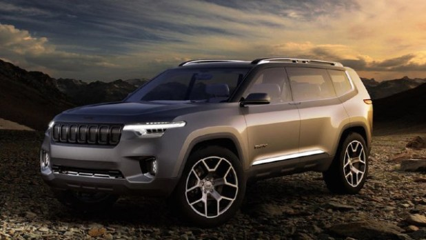 2022 Jeep Wagoneer Desert Rated design