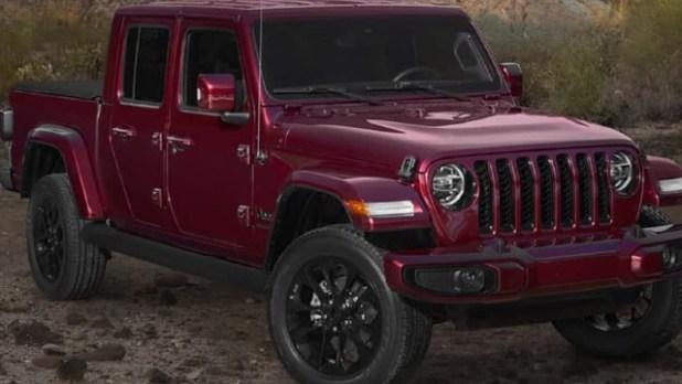 2021 Jeep Gladiator Sport changes