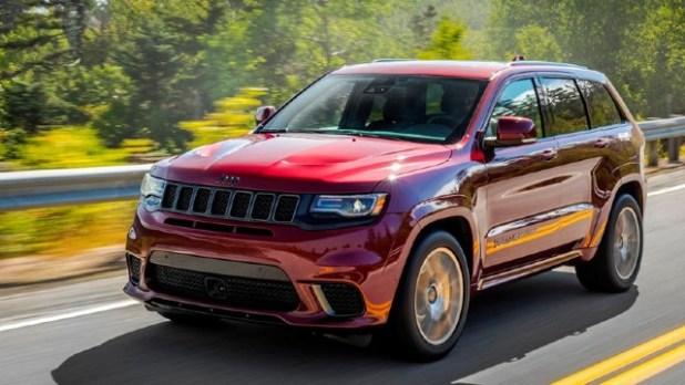 2021 Jeep Grand Cherokee Trackhawk topspeed