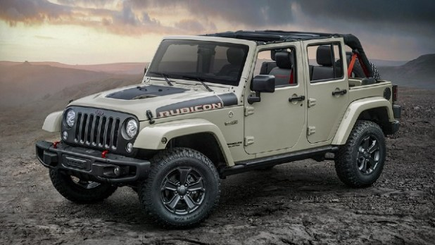 2021 Jeep Wrangler Rubicon Recon design
