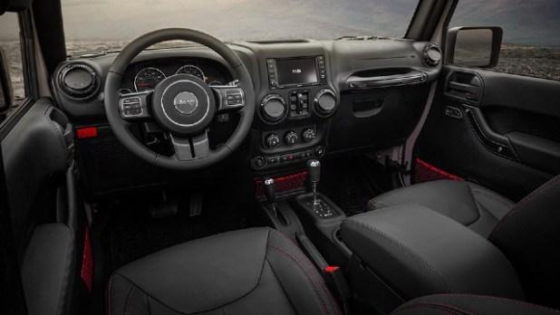 2021 Jeep Wrangler Rubicon Recon interior