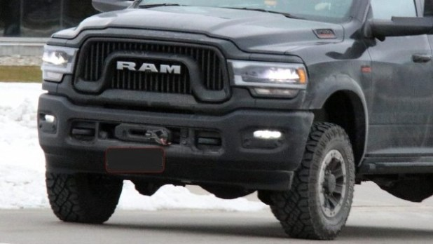 2022 Ram 2500 Power Wagon spy shots