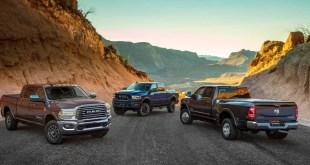 2023 Ram HD trucks
