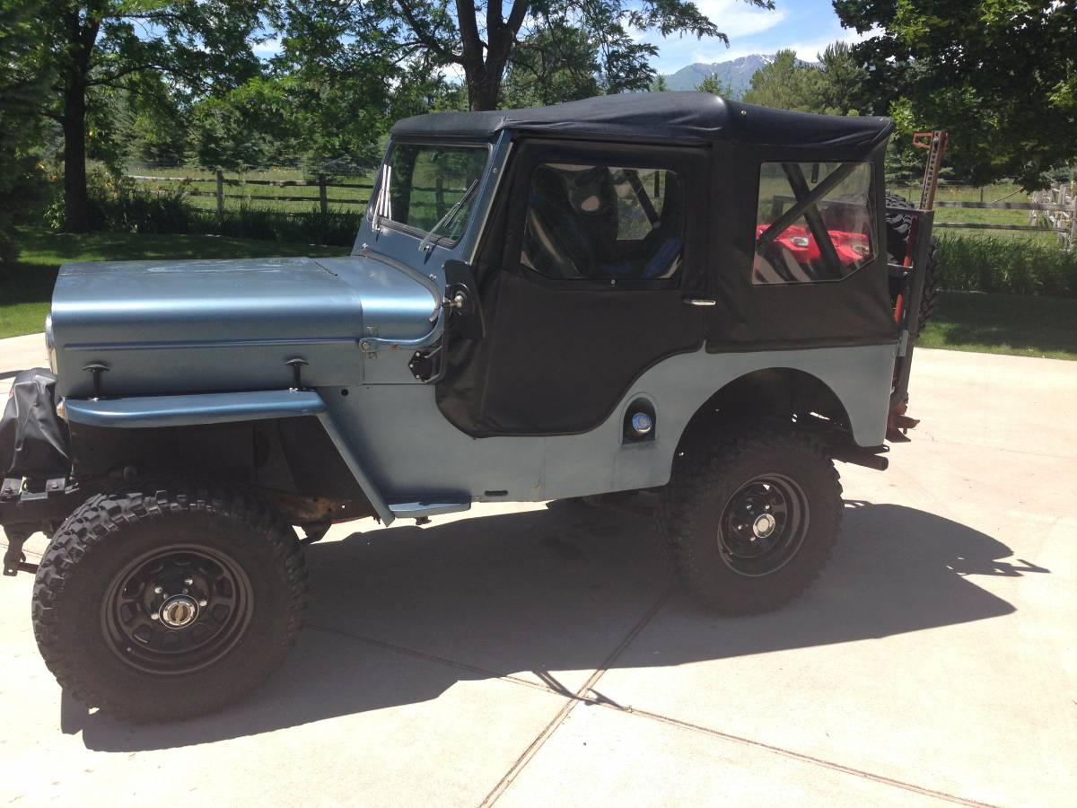 1953 willys cj3b convertible for sale in logan ut 6 500