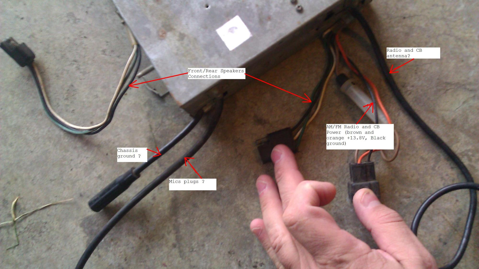 hight resolution of cb radio wiring guide about wiring diagram back of cb radio wiring