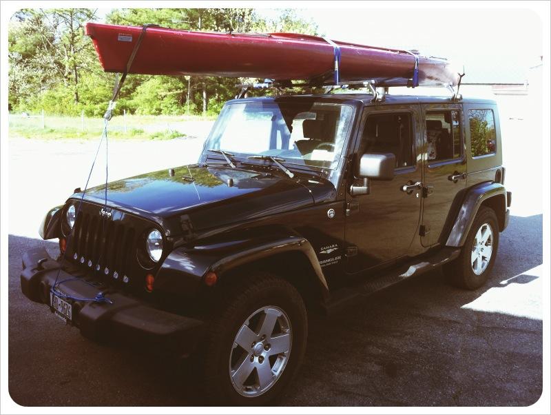 jeep wrangler kayak rack jeepworld