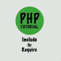 PHP - Include/Require