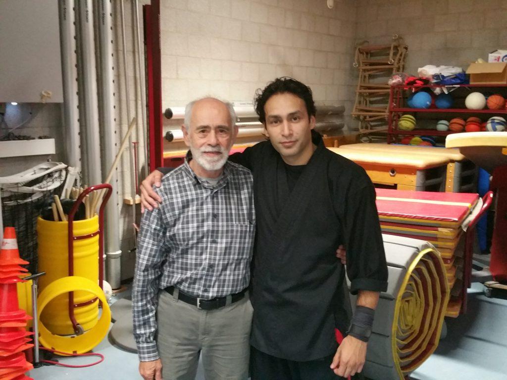 Sifu Steve Golden en Sifu Stephen Ghazi