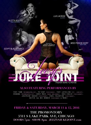 CHICAGO- Jeezy's Juke Joint- March 11-12th