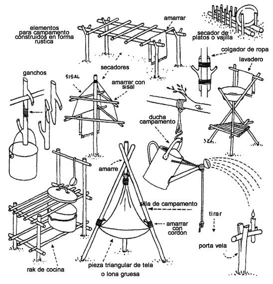 Contrucciones y astucias Scout