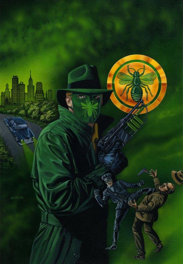 Golden Age Green Hornet Print Avalon Fine Art Prints