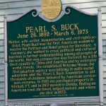 Pearl S. Buck house is lost to Irene