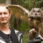 Robert Johnson of T.I.G.E.R.S. a exotic animal conservation group