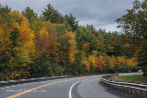 Fall foliage along Mohawk trail