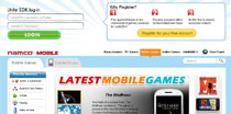 NamcoGames.com 2nd Major Revision (Unreleased) - Powered by Drupal CMS with custom modules and login integration to Unite