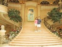 Vegas Grand Canyon 039 - Ryan Kathie Bellagio Staircase