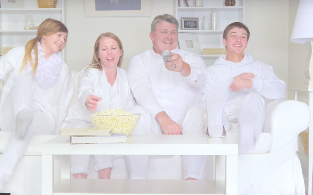 Family Is Shot With 1 Paintball for Every Swear Word in Average Hollywood Movie