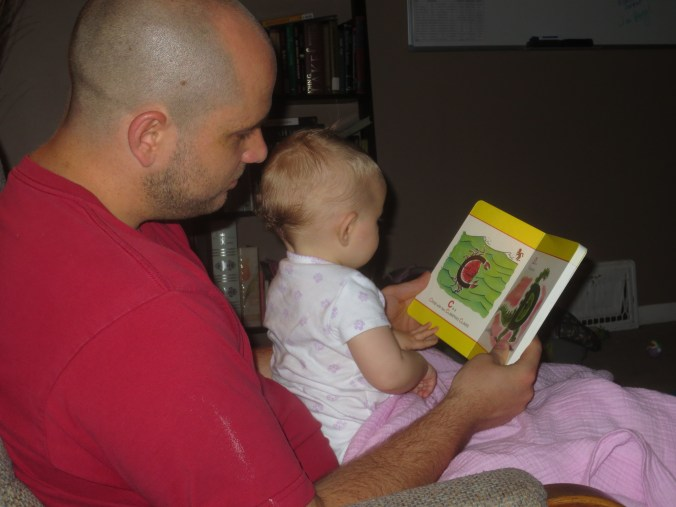 Reading Curious George