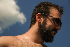 Houston Photographer – Portrait on the Lake