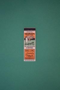 Houston Photographer – Vintage Match Book