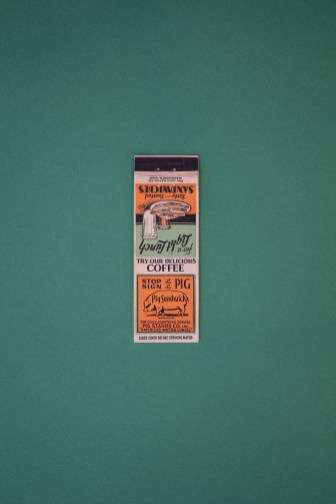 Houston Photographer – Vintage Match Book