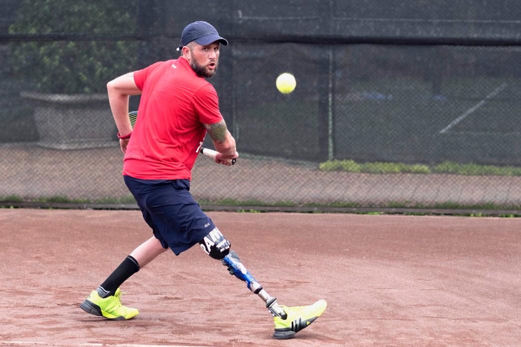 Amputee Tennis Pro Jeff Bourns