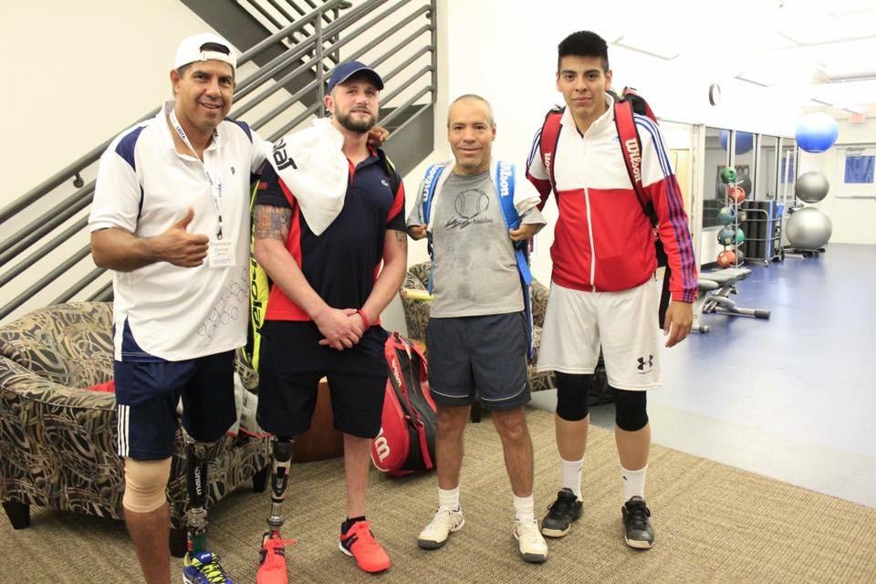 Francisco Cardoso, Jeff Bourns, Tono Solano, and Leonel Iknadiyosyan At the 2016 USA TAP OPEN