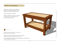 Build Plans Building A Simple Coffee Table DIY PDF wooden