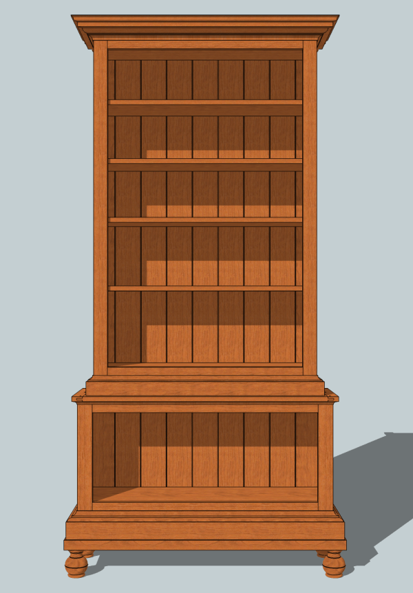 DIY Bookcase Plans Woodworking