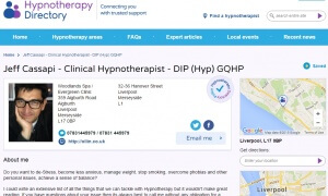Jeff Cassapi Expert Articles on Hypnotherapy Directory