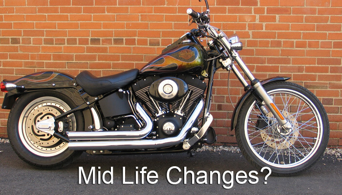 Manage change mid life