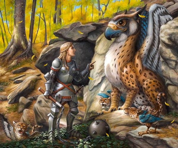 Fantasy Art Jeff Crosby